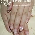 【光療指甲】20111004小香-延甲雙法式款光療指甲-1.jpg