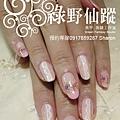 【光療指甲】20111014-餅乾 小碎花光療指甲.jpg