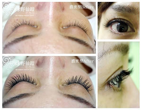 20111219性感電眼風-華麗濃密型嫁接睫毛  約雙眼睫毛根數210~220根