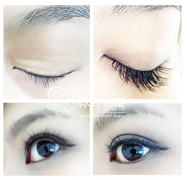 201201-性感電眼風-華麗濃密型嫁接睫毛 約雙眼睫毛根數210~220根