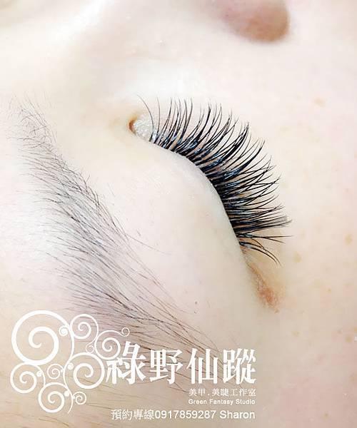 201202楊小姐的名媛貴婦風-芭比濃密型嫁接睫毛