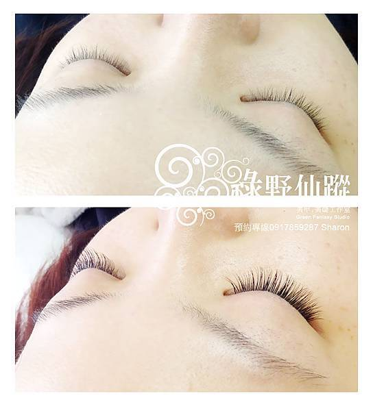 201203 陳小姐的名媛貴婦風-芭比濃密型嫁接睫毛