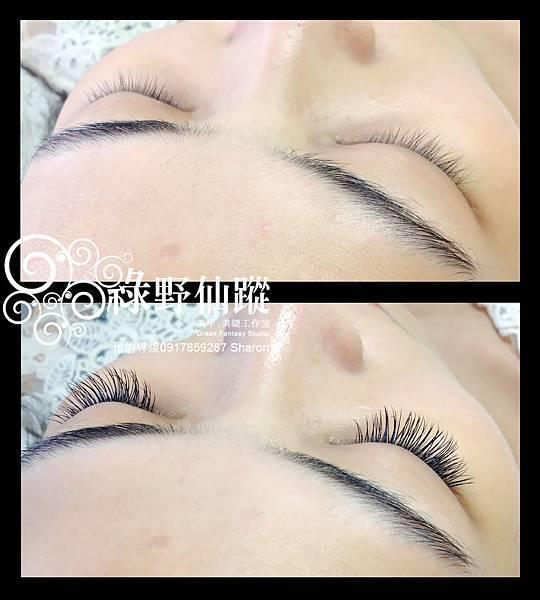 201206 謝小姐的名媛貴婦風-芭比濃密型睫毛