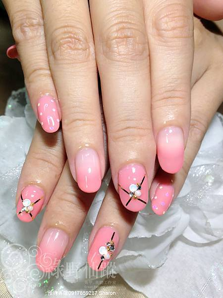 【光療指甲】小元的周年慶(精選一)氣質美人款光療指甲