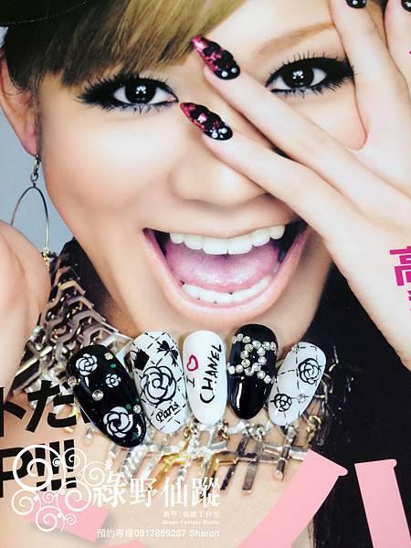 【光療指甲】我愛香奈兒!小香風光療指甲