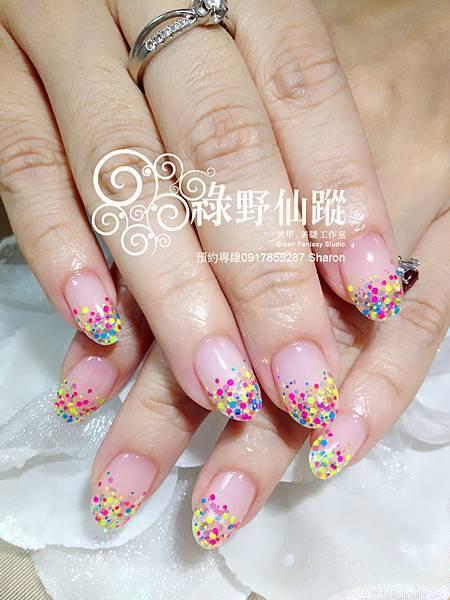 【光療指甲】大阪限定亮片璀璨光療指甲
