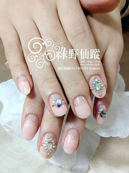 【光療指甲】周年慶(精選二)公主美人款光療指甲
