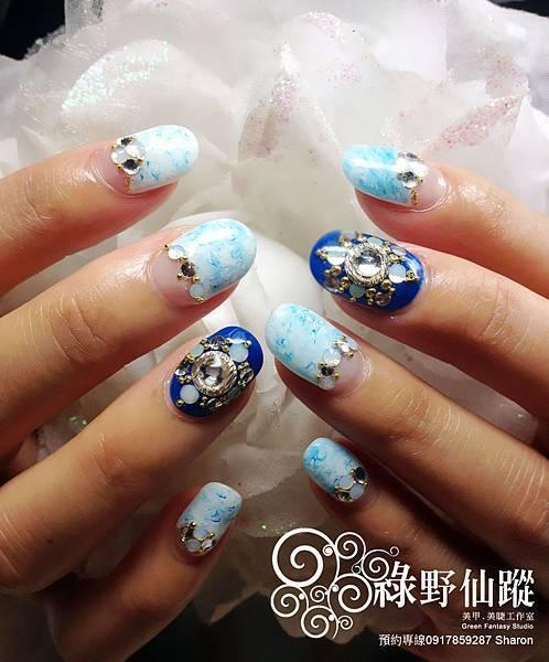 【光療指甲】秋冬渡假款