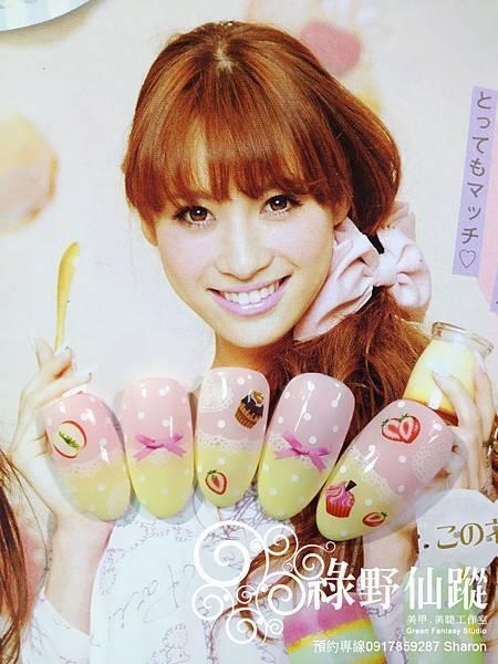 【光療指甲】少女系甜點女孩風