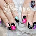【光療指甲】日本冬季雜誌個性設計款外加象神兩指