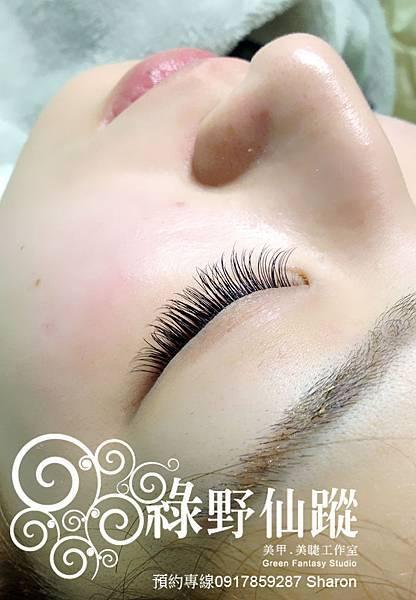 【嫁接睫毛】160根眼中加長 15T 8-10m 皮膚超好的日本妹導遊