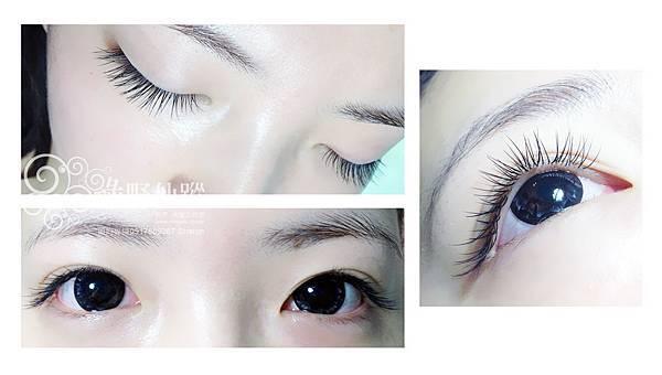 【嫁接睫毛】J 15眼尾加長自然濃密型垂眼效果雙眼120根