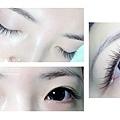 【嫁接睫毛】120根自然濃密型垂眼效果雙眼 J 15眼尾加長 j