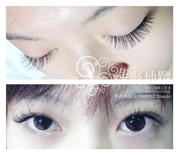 【嫁接睫毛】J 15眼中加長芭比濃密型雙眼160根S