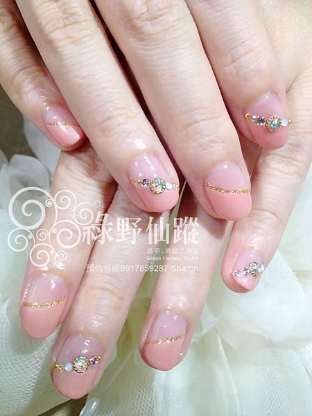 【光療指甲】日本高木老師結婚式光療美甲