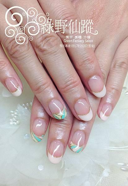【光療指甲】幾何法式變化設計光療指甲.jpg