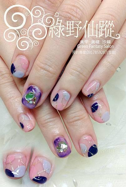 【光療指甲】幾何色塊X暈染設計光療指甲.jpg