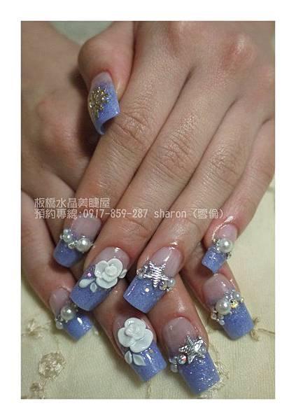 春之璀璨水晶+夾心+粉雕01