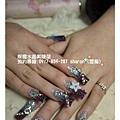 雙色琉璃水晶指甲01