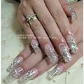 【水晶指甲】20110507黃小姐透明琉璃水晶指甲.jpg
