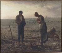 米勒的田園之美~晚禱