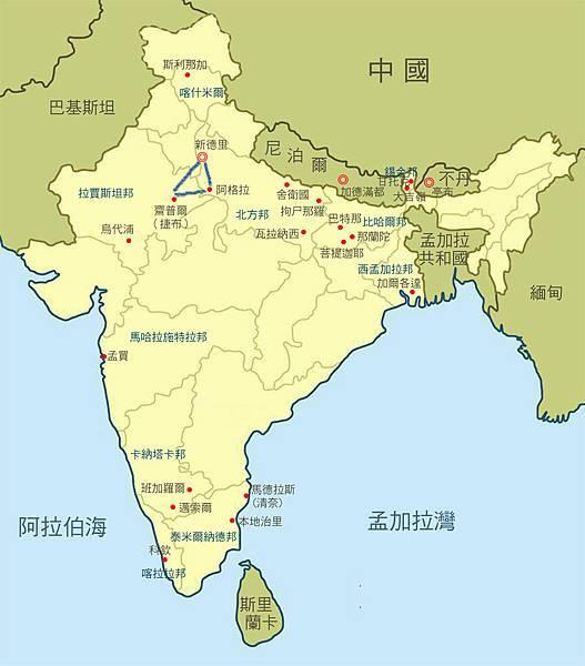 旅遊資源豐富 南北印度各有特色