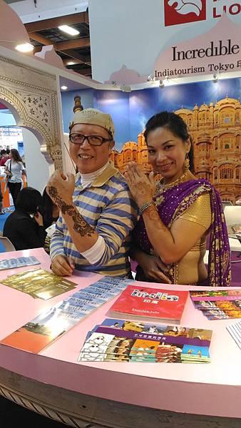 2016 台北國際旅展 (Taipei ITF 2016) 印度館展攤編號 D125,旅遊攝影家Kai 和 HANNA彩繪師Merry為您提供專業的印度旅遊諮詢。世群旅行社.jpg