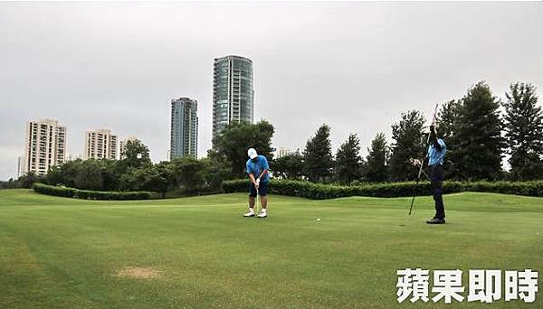 Jaypee Greens Golf & Spa Resort球場設計十分現代化,在德里頗為知名。2016 蘋果日報/愛玩姐。世群旅行社.bmp
