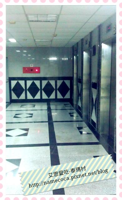 泰瑪村 電梯口外