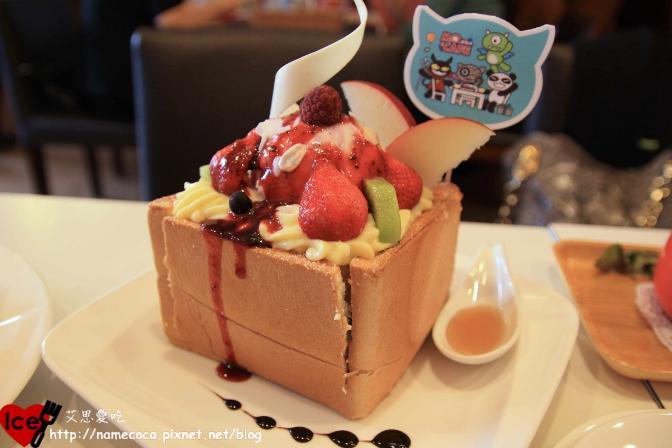 萌咖啡【仲夏藍莓蜜糖土司 NTD199】