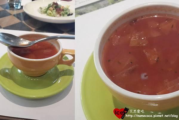 商業午餐例湯-番茄蔬菜湯