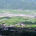8月29日,赤柯山產業道路鳥瞰縱谷