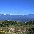六十石山,遠眺中央山脈