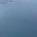 下面有一架飛機要降落桃園機場?