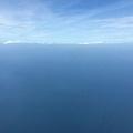 台灣海峽上空