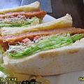 豬排三明治特寫