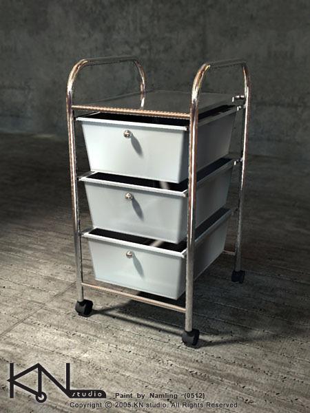 移動式收納櫃