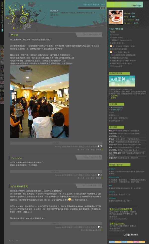 2009 Blog