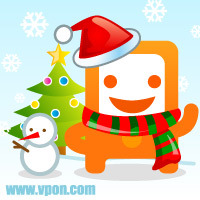 MSN大頭│聖誕PON寶01