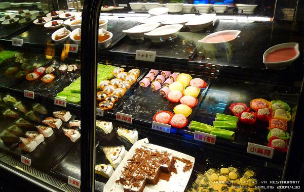 可利亞-甜點櫃