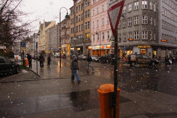 Linz下雪了