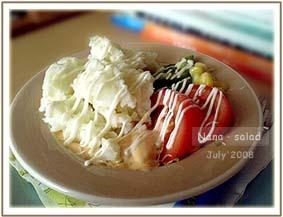 馬鈴薯三色沙拉