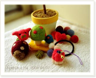 20090607-襪娃娃。羊毛氈