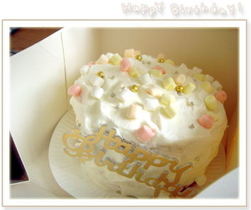 Sandy和淳淳的手作蛋糕!
