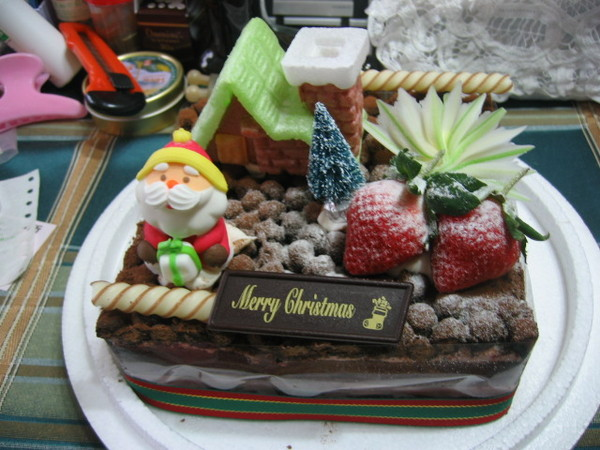 2007年的聖誕蛋糕