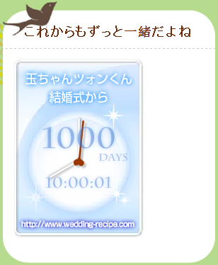 the 1000th day