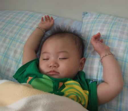 最喜歡的睡姿