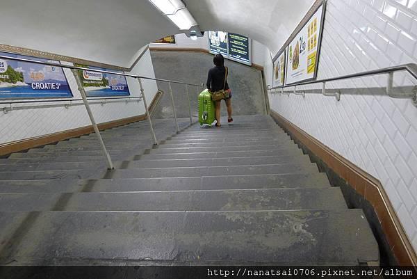 法國的地鐵沒電梯