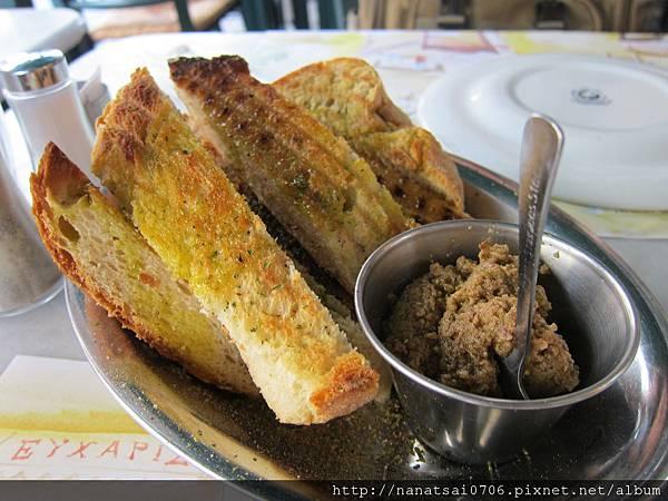 烤麵包加香料 @ Greece 希臘