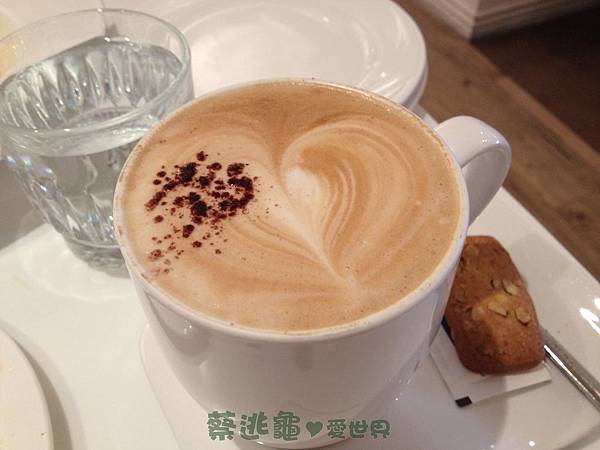 Latte 無糖拿鐵@ Dazzling Cafe Mint